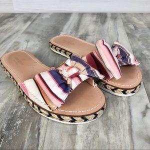 Kate Spade Idalah Espadrille Sandals With Bow